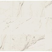 Product swatch of marble look porcelain tile Classentino Marble